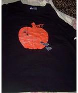 Womens Plus Size Halloween T-Shirt Pumpkin Bats Spiders SZ 3X NWT  Black... - $15.00