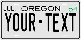 Oregon 1954 Personalized Tag Vehicle Car Auto License Plate - $16.75