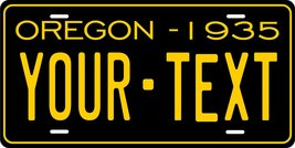 Oregon 1935 Personalized Tag Vehicle Car Auto License Plate - $16.75