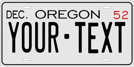 Oregon 1952 Personalized Tag Vehicle Car Auto License Plate - $16.75