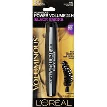 L'Oreal Voluminous Power Volume 24H Mascara, Black Smoke 697  - $12.99