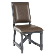 INK+IVY Lancaster Side/ Dining Chair  ChocolateIndustrial Dining Chair - €220,41 EUR