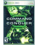 XBOX 360 - Command & Conquer 3 - Tiberium Wars  - $9.95
