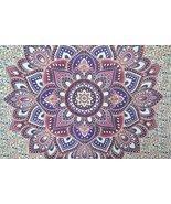 Ombre Mandala Wall Hanging Bohemian Tapestry Dorm Decor - $25.95