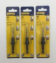 (New) Irwin  1882781  #6 Countersink Tool  Pack of 3 - $33.65