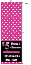 Custom Table runner Hearts Jewelry  2'x6' Predesigned For Paparazzi Consultants image 2