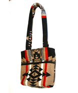 Southwestern Pattern Shoulder Bag Lined Compart... - $17.99