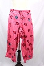 Life is Good Heart Print Pajama Pants Sz Small ... - $37.39