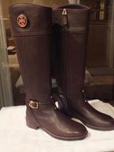 Tory Burch Theresa Boots-Leather Coconut Size 7 100% Authentic Guar. NIB - $314.99