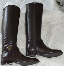 Tory Burch Bristol 30mm Boots-Leather Coconut Size 7.5 100% Authentic Gu... - $314.99