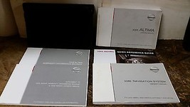 2005 Nissan Altima Owners Manual With Navigation by Nissan Motors - $29.69