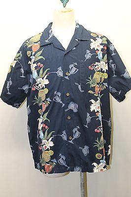 Steve & Barry Hawaiian Men Shirt Pineapple and similar items