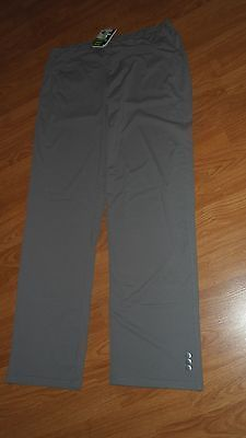 Primary image for JO FIT LADIES STRETCH PANTS SIZE M GRAY WORKOUT NWT