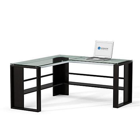 Whalen Jasper L Desk Espresso 163691 And 50 Similar Items
