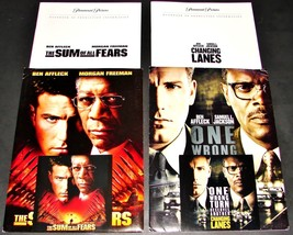 2 BEN AFFLECK Movie PRESS KITS SUM OF ALL FEARS & CHANGING LANES Samuel ... - $13.99