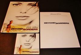 2003 BEYOND BORDERS Movie PRESS KIT Folder CD PR Notes Clive Owen ANGELI... - $21.84