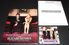 2005 ELIZABETHTOWN Movie PRESS KIT Folder CD Production Notes Orlando Bloom - $13.99