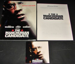 2004 Movie THE MANCHURIAN CANDIDATE PRESS KIT 27 Photo CD-ROM Production... - $11.39