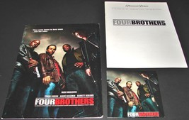 2005 FOUR BROTHERS Movie PRESS KIT Folder CD Production Notes Mark Walberg - $14.24