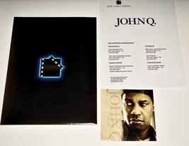 2002 Movie JOHN Q PRESS KIT 10 Photo CD-ROM Production Notes & Folder - $11.39