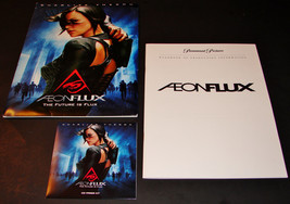 2005 AEON FLUX Movie PRESS KIT Folder, Disc, Production Notes CHARLIZE T... - $11.39