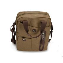 3X Men's Vintage Canvas Shoulder Messenger Bag Satchel (USPS) - $99.62
