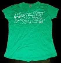 NEW 2006 TAKE THE LEAD Adult XL T-SHIRT Ladies Cut Movie Promo NLA PreSh... - $8.99