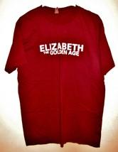 NEW 2007 ELIZABETH THE GOLDEN AGE Adult XL T-SHIRT Movie Promo 100% Cot ... - $9.99