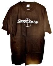 NEW 2007 SHOOT 'EM UP Adult Large T-SHIRT Movie Promo L 100% Cotton Bull... - $9.99