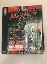 New! Mattel Michael Jordan figure Air Maximum Silver Edition Figure NIP 1999 B67 - $11.64