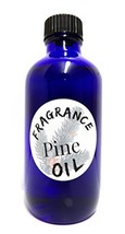 Pine- 4 Oz Blue Glass Bottle of Premium Grade A Fragrance Oil, Skin Safe... - $17.45
