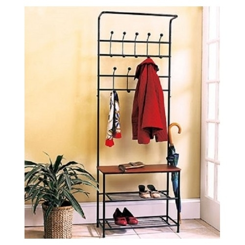 Coat Rack Shoe Rack Entryway Bench Mud Room Hat Rack Umbrella Rack Hallway Seat