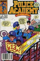 POLICE ACADEMY #4 (Marvel Comics) NM! - $1.50