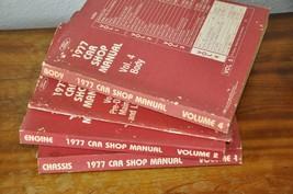 1977 Ford Car Factory Shop Manuals 4 Total - $15.99