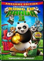 Kung Fu Panda 3 (2016) DVD New - $9.95