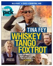 Whiskey Tango Foxtrot (2016) Blu-ray/DVD + Digital HD New