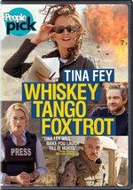 Whiskey Tango Foxtrot (2016) DVD New