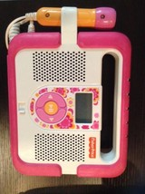 Fisher-Price Kid-Tough MP3 Music Player with Microphone (Pink)! RARE - $98.95