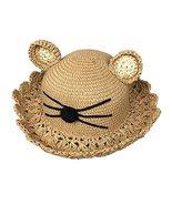 George Jimmy Cute Cat Design Beach Hat Beach Hat Travel Bucket Hat for G... - $20.66