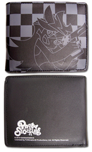 Panty & Stocking: Panty Checkered Black Wallet Brand NEW! - $18.99