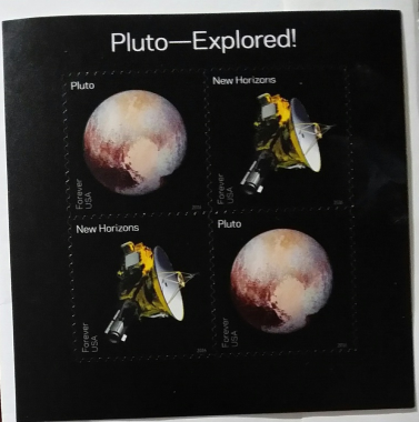 US Pluto Expored! New Horizon Space Mission 2016 (USPS) MNH FOREVER Stamp