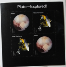 US Pluto Expored! New Horizon Space Mission 2016 (USPS) MNH FOREVER Stamp  - $3.45