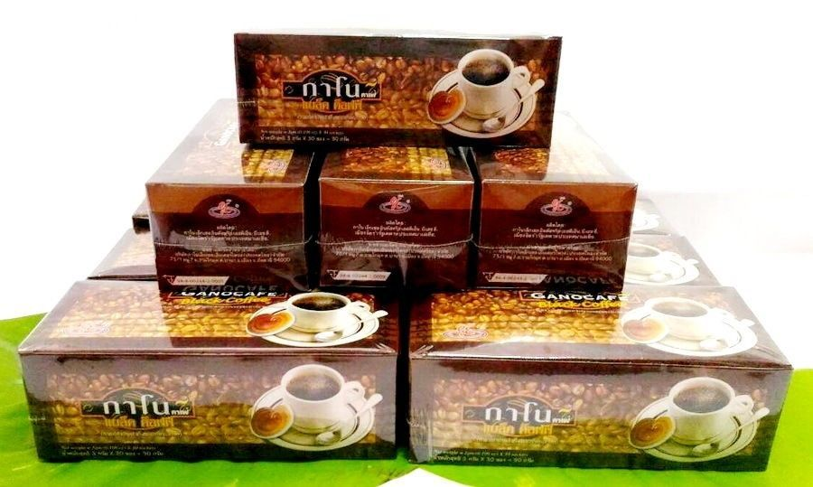 10Box Ganocafe Classic Ganoderma Healthy Black Coffee Reduce FAT Sugar Free Xmas