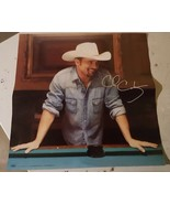 "Chris Cagle autographed poster 18"" x 18"" - $5.00"