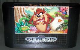 SEGA GENESIS - TAZ-MANIAn (Game Only) - $10.00