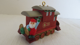 Christmas Hallmark Keepsake 1991 Caboose Ornament No Box - $4.99