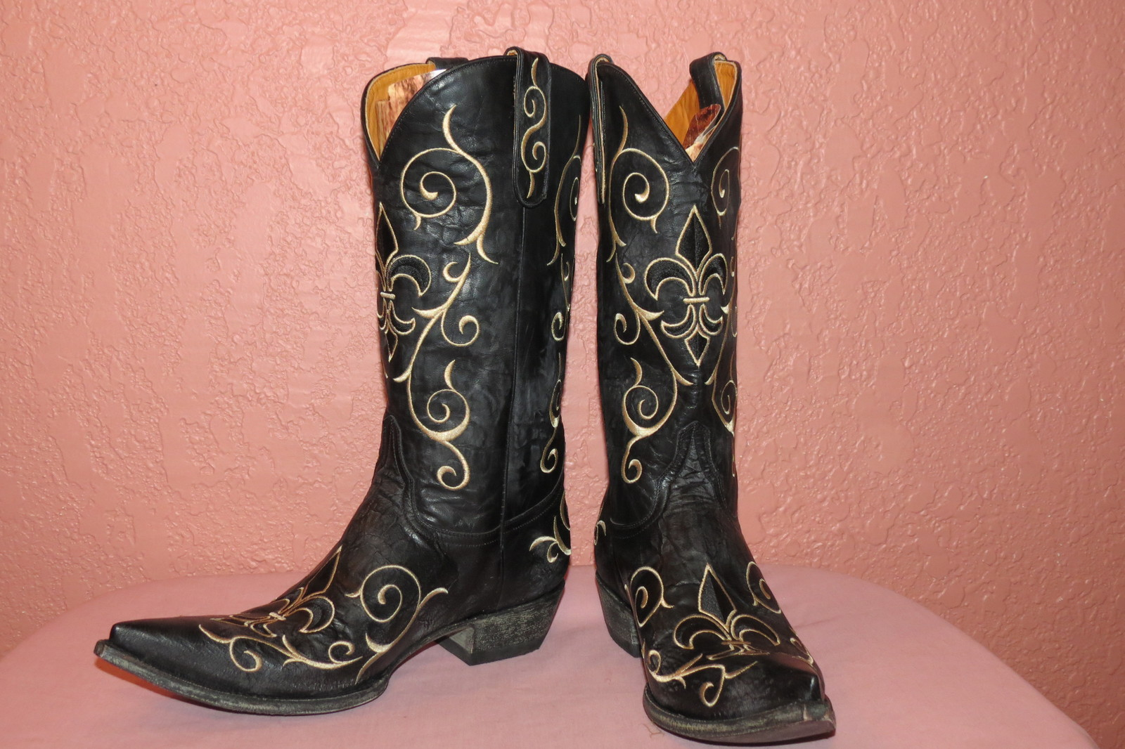 Ladies NIB Old Gringo Size 10 1/2 B Evelyn Boots in Black