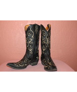 Ladies NIB Old Gringo Size 10 1/2 B Evelyn Boots in Black - $250.00