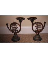 Candle Holders Horn New - $29.99