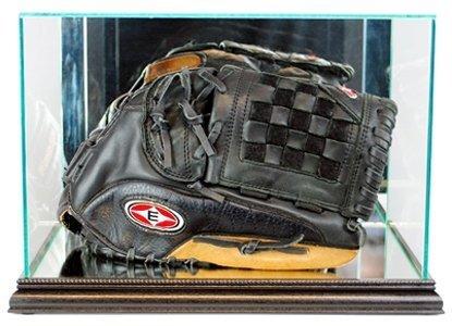 Perfect Cases MLB Rectangle Baseball Glove Glass Display Case, Black